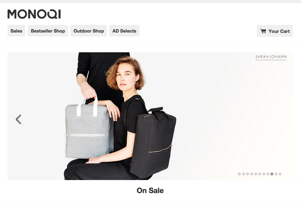 monoqi campaign sarah johann. Black Bedroom Furniture Sets. Home Design Ideas